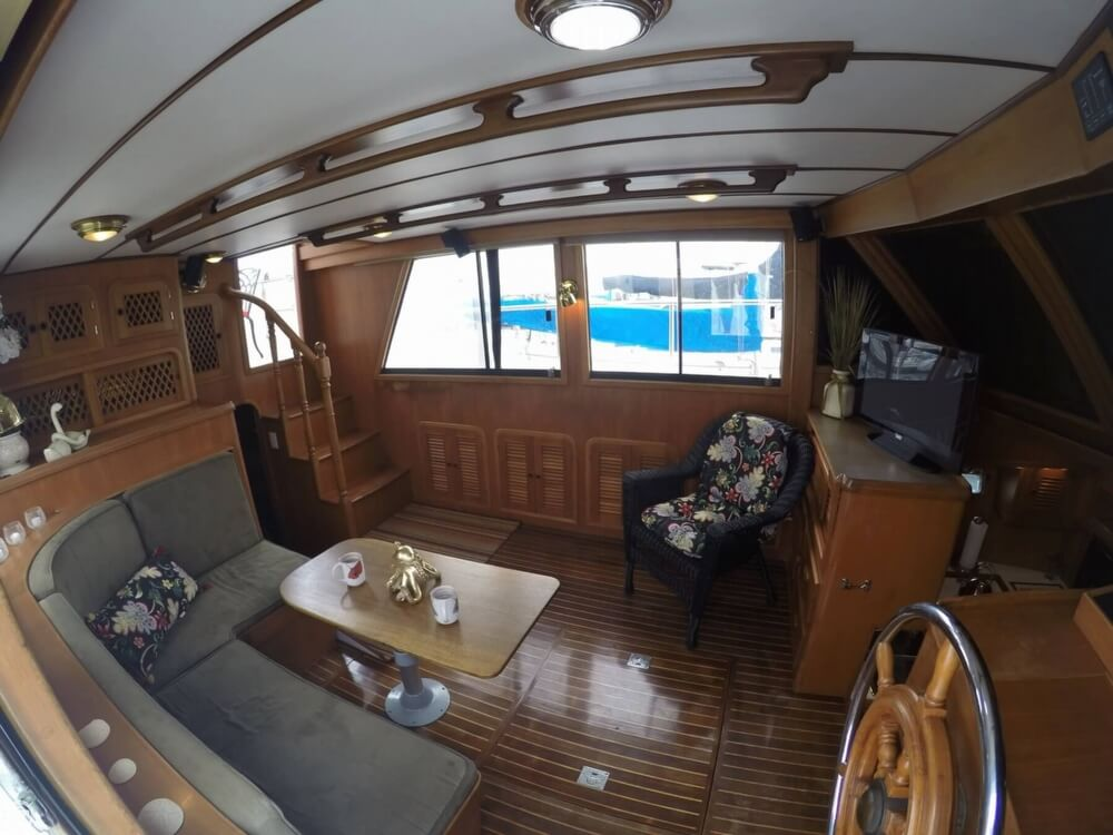 1999 Heritage boat for sale, model of the boat is East 36 Sundeck & Image # 11 of 40