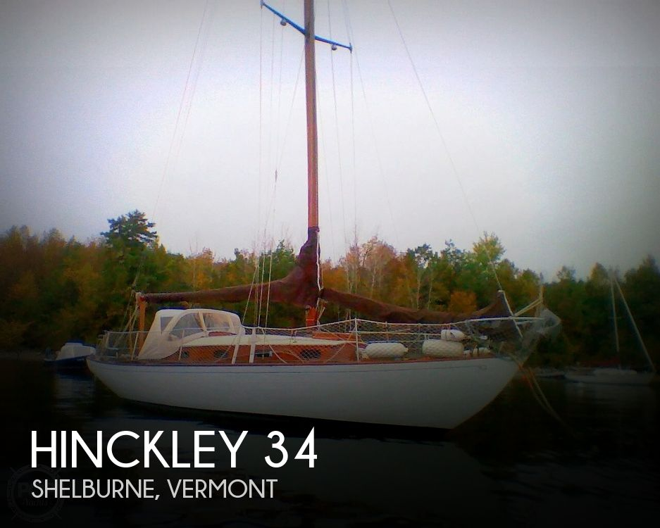 1950 Hinckley boat for sale, model of the boat is SOU'WESTER 34 & Image # 1 of 40