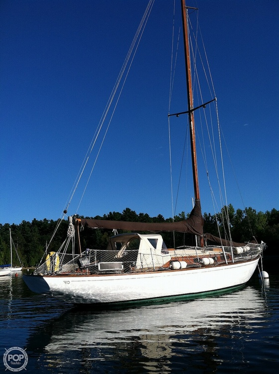 1950 Hinckley boat for sale, model of the boat is SOU'WESTER 34 & Image # 6 of 40