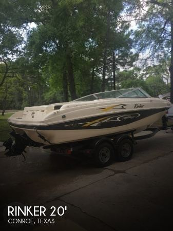 Used Rinker Boats For Sale in Texas by owner | 2001 Rinker 20