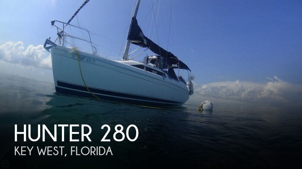 Used Hunter Sailboats For Sale in Florida by owner | 1998 Hunter 28