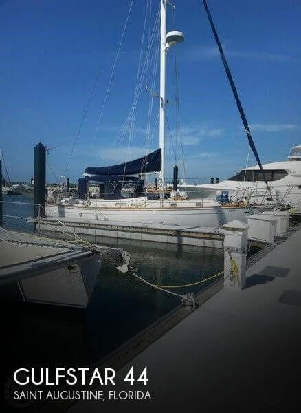 Used Boats For Sale in Jacksonville, Florida by owner | 1981 Gulfstar 44