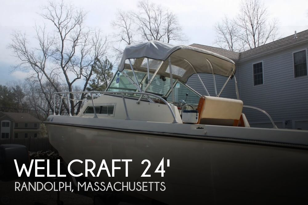 1980 Wellcraft boat for sale, model of the boat is Airslot 24 & Image # 1 of 41