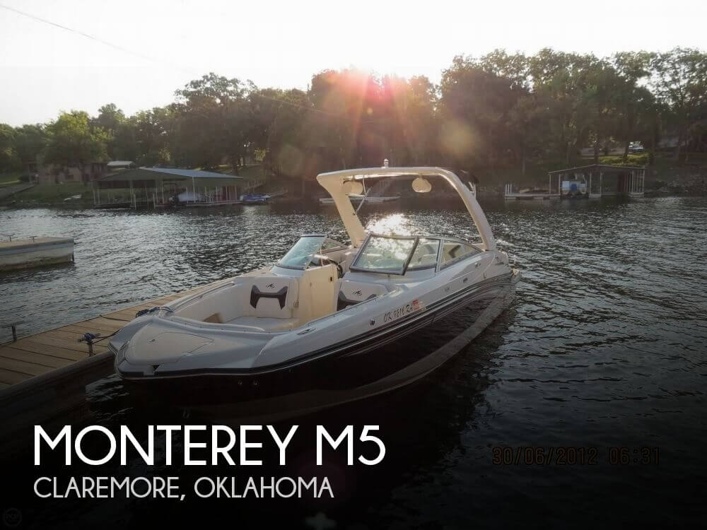 Used Boats For Sale in Tulsa, Oklahoma by owner | 2011 Monterey M5