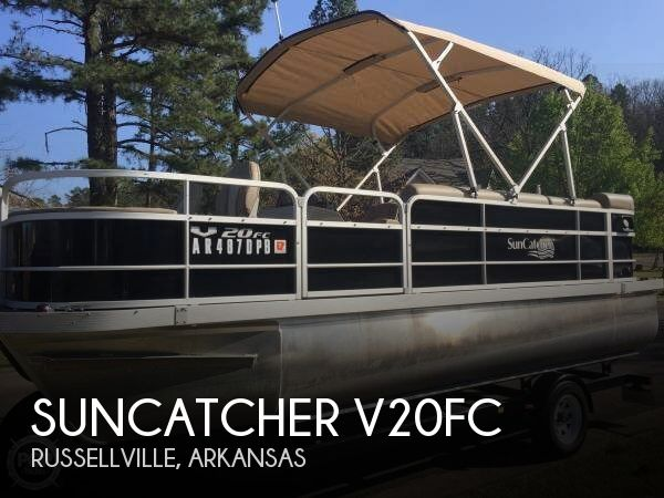Used Pontoon Boats For Sale in Arkansas by owner | 2015 SunCatcher V20FC