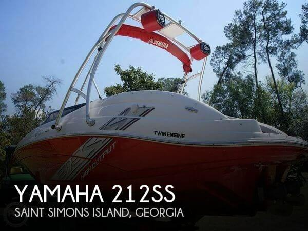Used Yamaha Boats For Sale in Georgia by owner | 2008 Yamaha 21