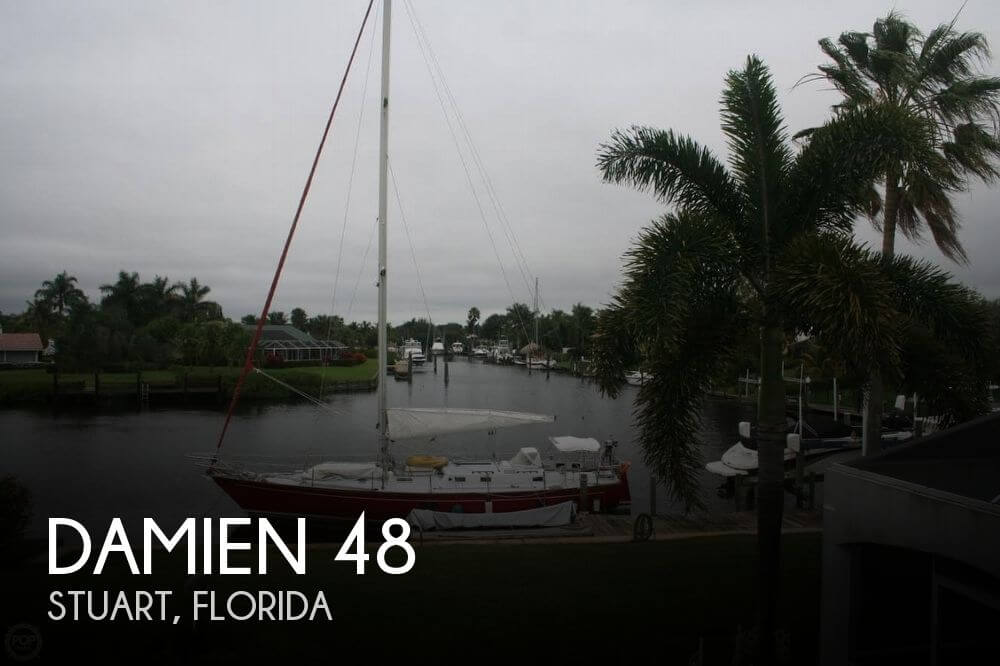 Used Boats For Sale in Port St. Lucie, Florida by owner | 1983 Damien 48