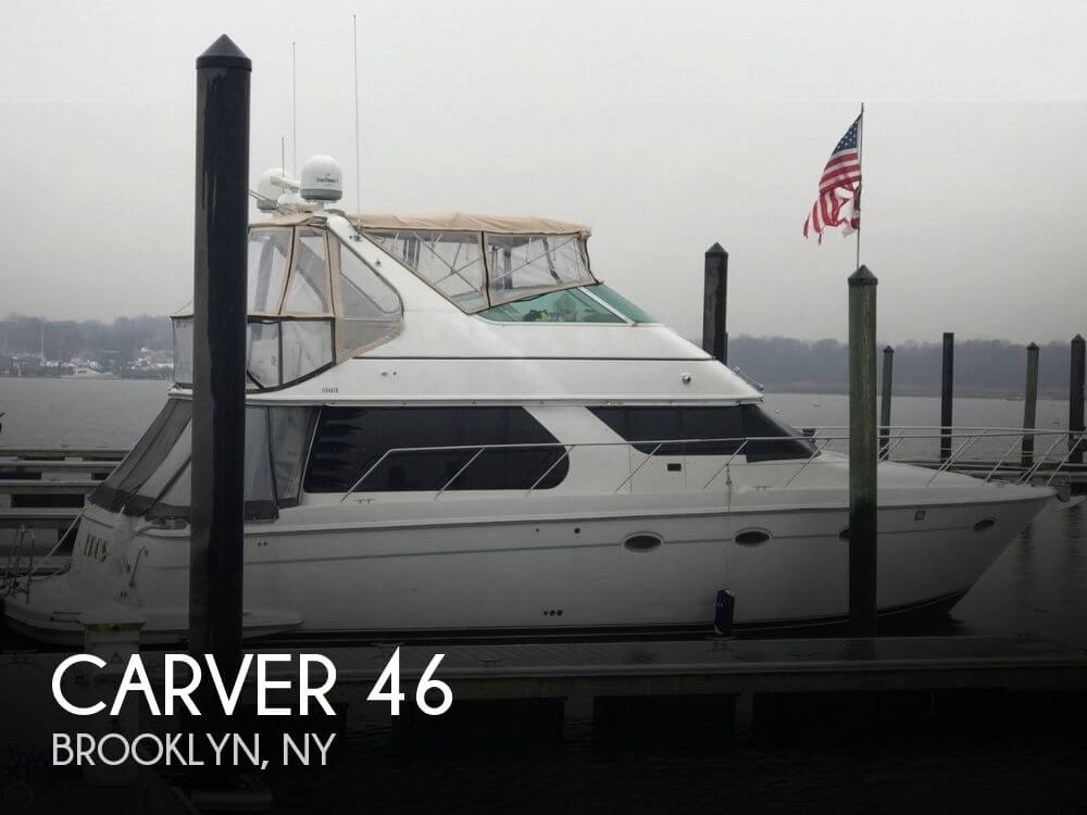 Used Carver Boats For Sale by owner | 2000 Carver 46