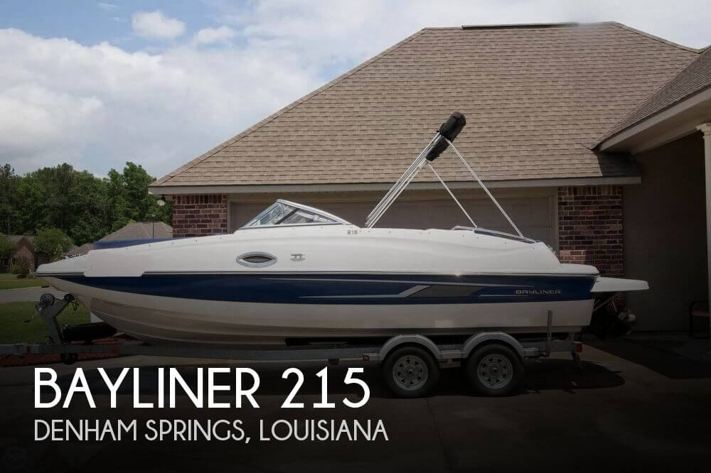 Used Deck Boats For Sale by owner | 2014 Bayliner 21