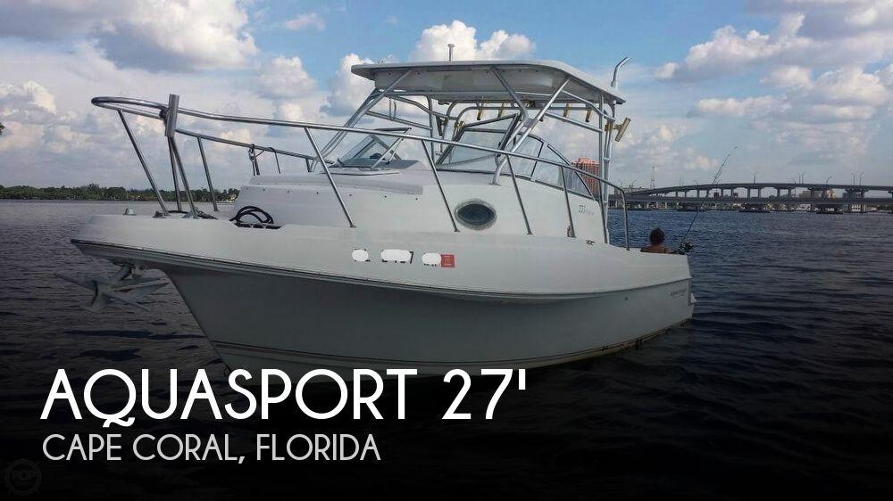 2000 AQUASPORT 275 EXPLORER for sale