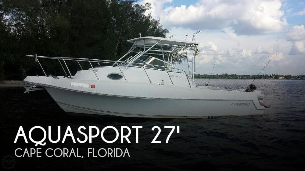 Used Aquasport Boats For Sale by owner | 2000 Aquasport 27