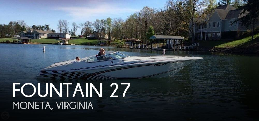 Used Boats For Sale in Lynchburg, Virginia by owner | 2000 Fountain 27