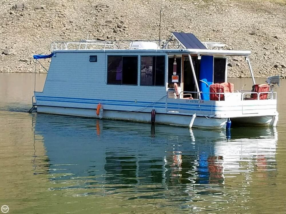 For sale used 1992 catamaran cruisers 34 in sanger for Used fishing boats for sale in california