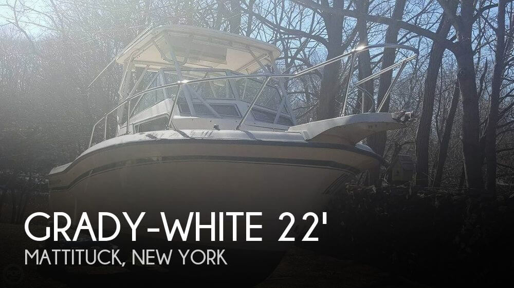Used Boats For Sale in Providence, Rhode Island by owner | 1995 Grady-White 22