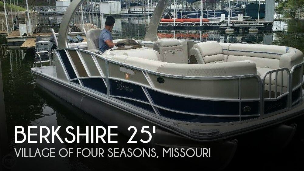 Used Pontoon Boats For Sale by owner | 2013 Berkshire 25