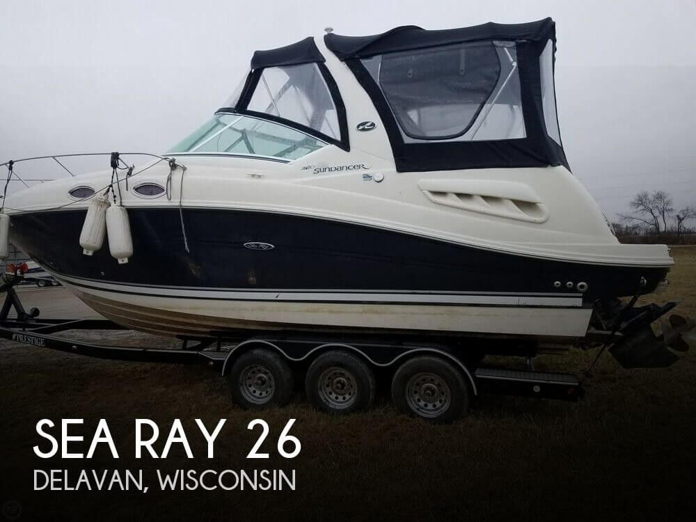 Used Boats For Sale in Milwaukee, Wisconsin by owner | 2007 Sea Ray 26