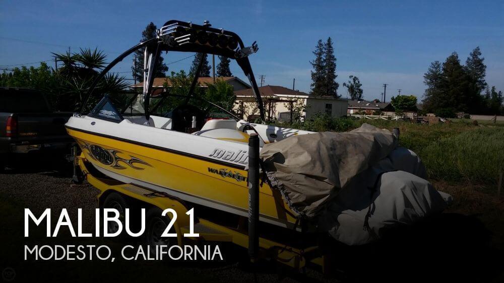 Used MALIBU Boats For Sale in California by owner | 2001 Malibu 21