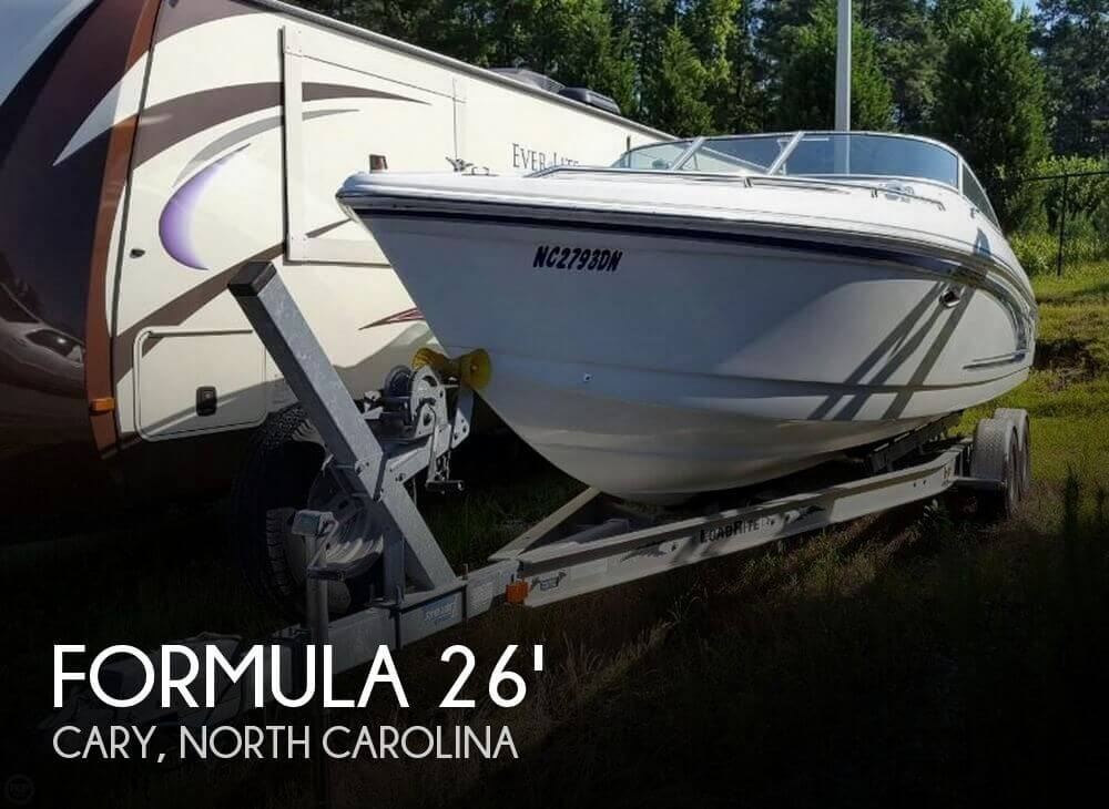 Used Boats For Sale in Raleigh, North Carolina by owner | 2003 Formula 26