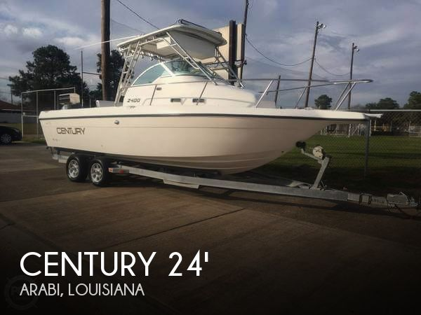 Used Century Boats For Sale by owner   1996 Century 24