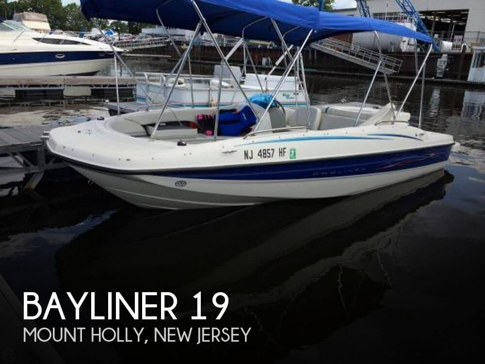 Used Bayliner Deck Boats For Sale by owner | 2006 Bayliner 19