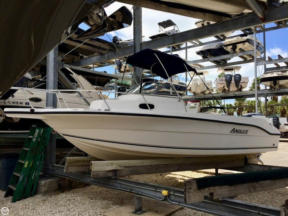 2004 Angler 2100 Walkaround For Sale