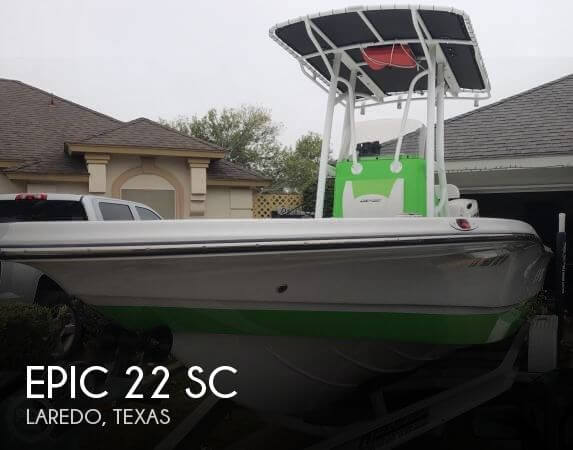 Used Boats For Sale in Laredo, Texas by owner | 2016 Epic 22