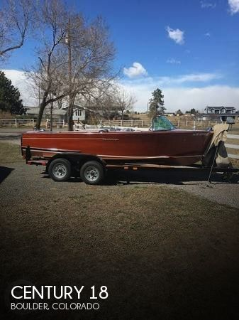 Used Boats For Sale in Fort Collins, Colorado by owner | 1956 Century 18