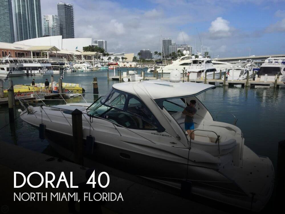 Used Doral Boats For Sale by owner | 2007 Doral 40