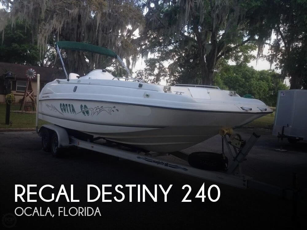 Used Regal 40 Boats For Sale by owner | 1997 Regal Destiny 240