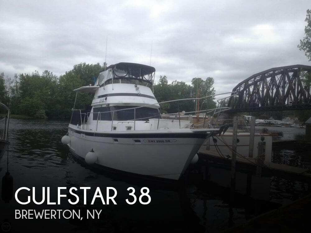 Used Boats For Sale in Utica, New York by owner | 1981 Gulfstar 38