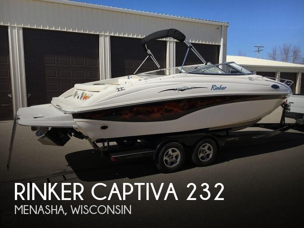 Used Boats For Sale in Wausau, Wisconsin by owner | 2002 Rinker 23