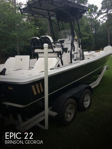 Used Boats For Sale in Dothan, Alabama by owner | 2015 Epic 22