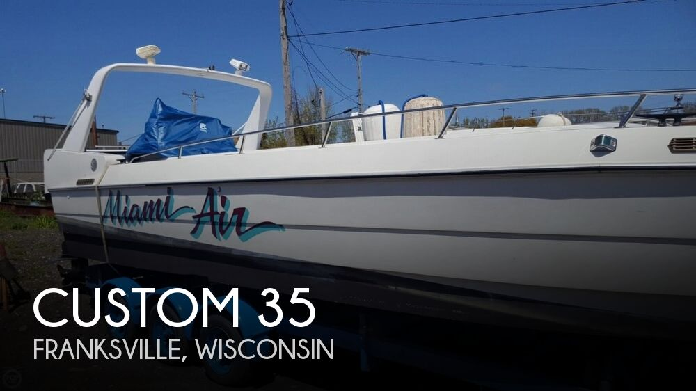 1989 Custom boat for sale, model of the boat is 35 & Image # 1 of 40