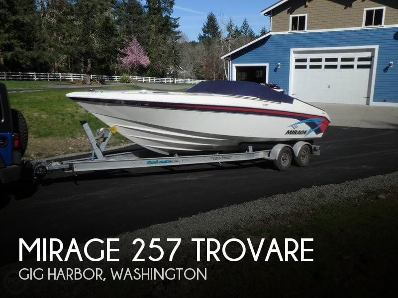 Used High Performance Boats For Sale in Washington by owner | 1997 Mirage 26