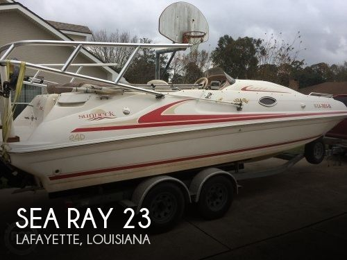 Used Deck Boats For Sale by owner | 1997 Sea Ray 23