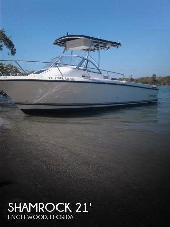 Used Shamrock Boats For Sale by owner | 2001 Shamrock 21