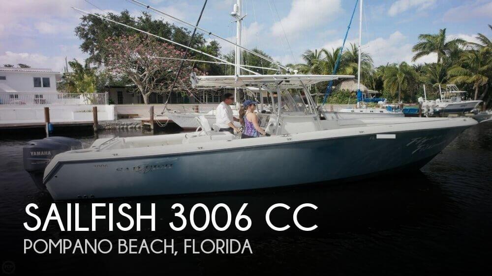 2007 Sailfish 3006 CC