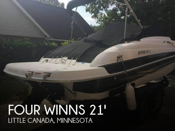 Used FOUR WINNS Deck Boats For Sale by owner | 2006 Four Winns 21
