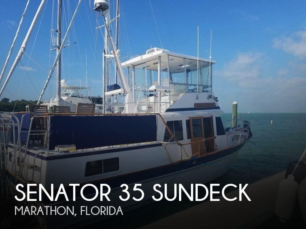 1985 Senator 35 Sundeck