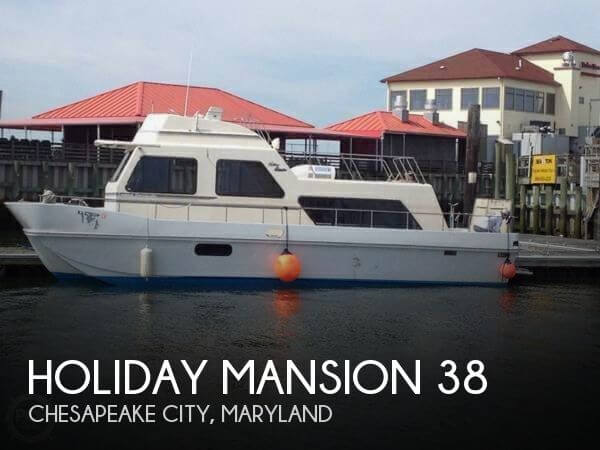 Used Holiday Mansion Houseboats For Sale by owner | 1990 Holiday Mansion 38