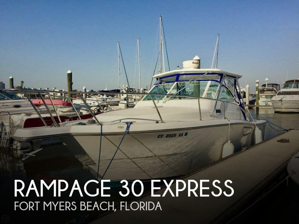 Used Rampage Boats For Sale by owner | 2001 Rampage 30
