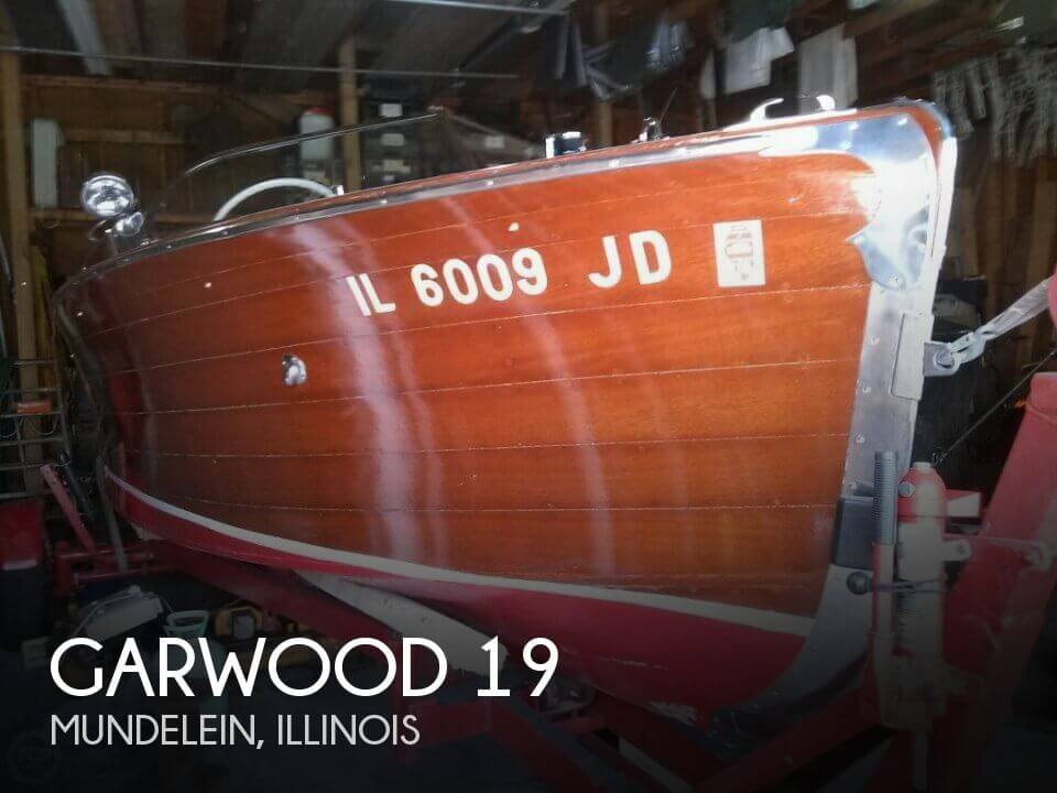 Used Boats For Sale in Rockford, Illinois by owner | 1940 Garwood 19