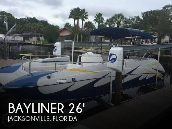 Used Deck Boats For Sale by owner   1992 Bayliner 26