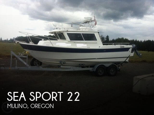Used Boats For Sale in Salem, Oregon by owner | 2007 Sea Sport 22