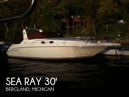 Used Sea Ray Boats For Sale in Michigan by owner   1995 Sea Ray 30