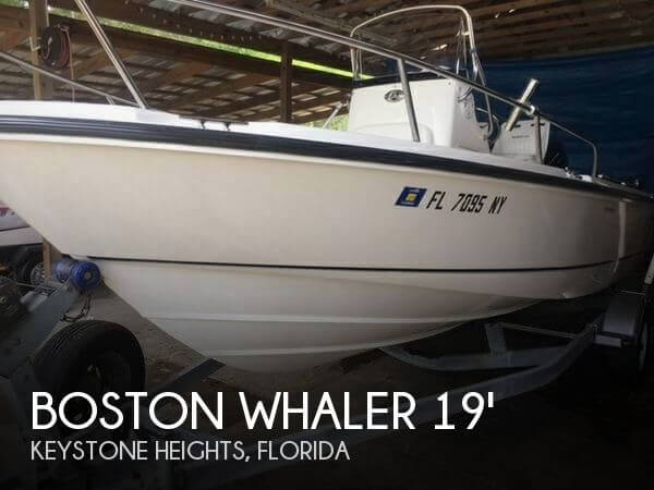 Used Boston Whaler Boats For Sale in Florida by owner | 2007 Boston Whaler 19
