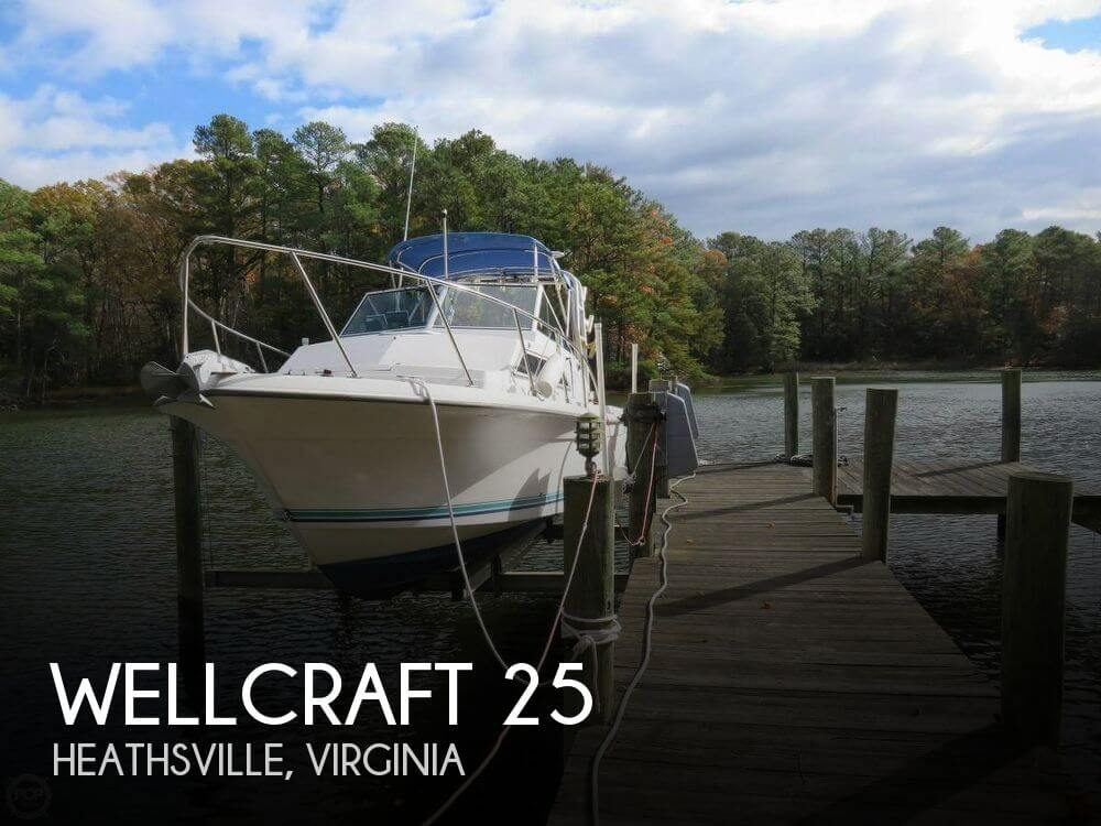 Used Wellcraft Boats For Sale in Virginia by owner | 1993 Wellcraft 25