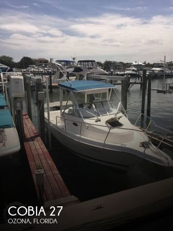 Used Cobia Boats For Sale by owner   2000 Cobia 27