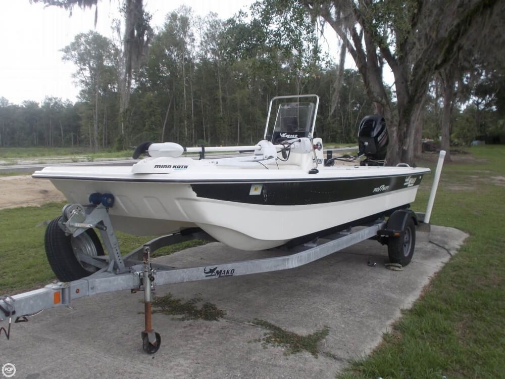SOLD: Mako Pro Skiff 17 CC boat in Gainesville, FL | 127402