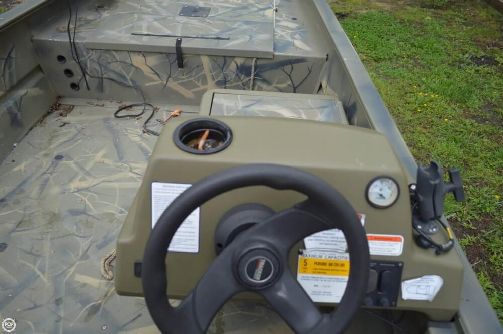 2014 Tracker Boats boat for sale, model of the boat is 1754 Grizzly & Image # 32 of 39